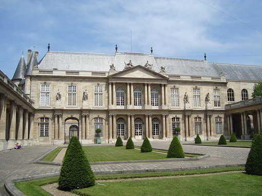 Cour de l'hôtel de Soubise