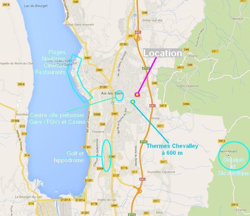 6 Localisation Et Tarif Location De Meubl Aix Les