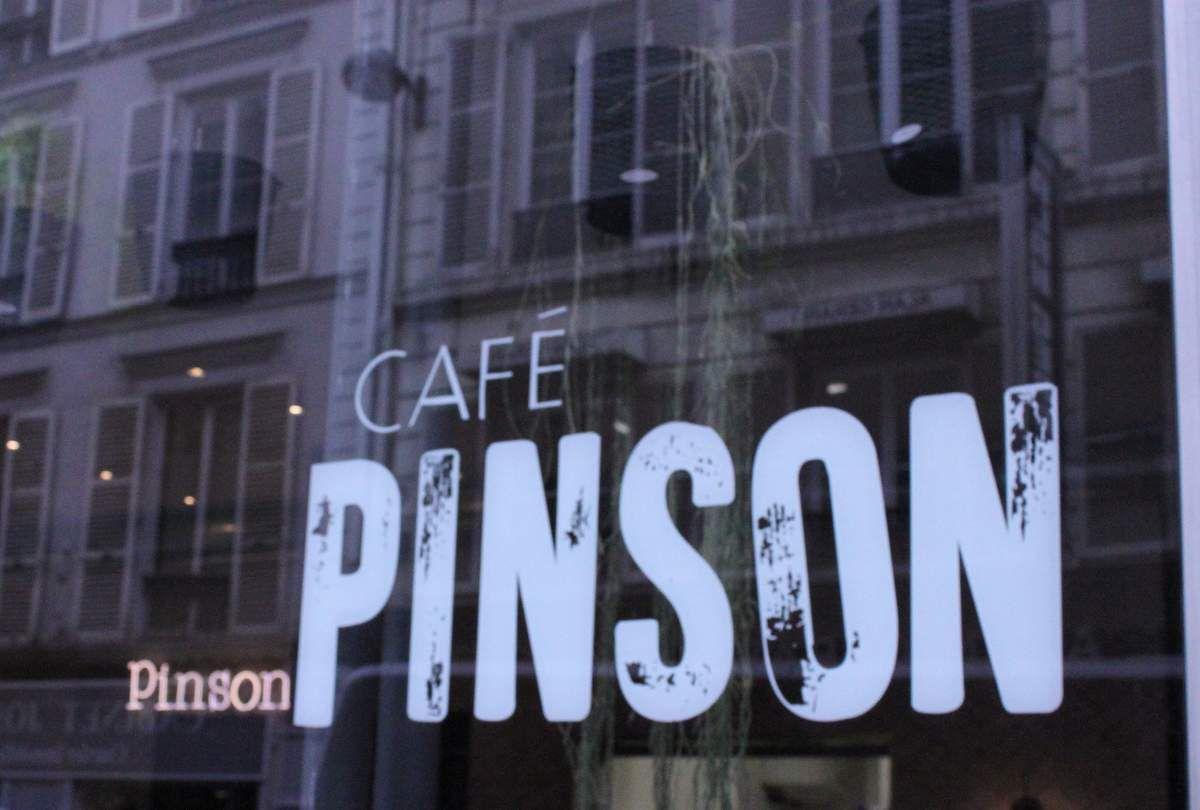 Coup de coeur pour le {Café Pinson} à Paris