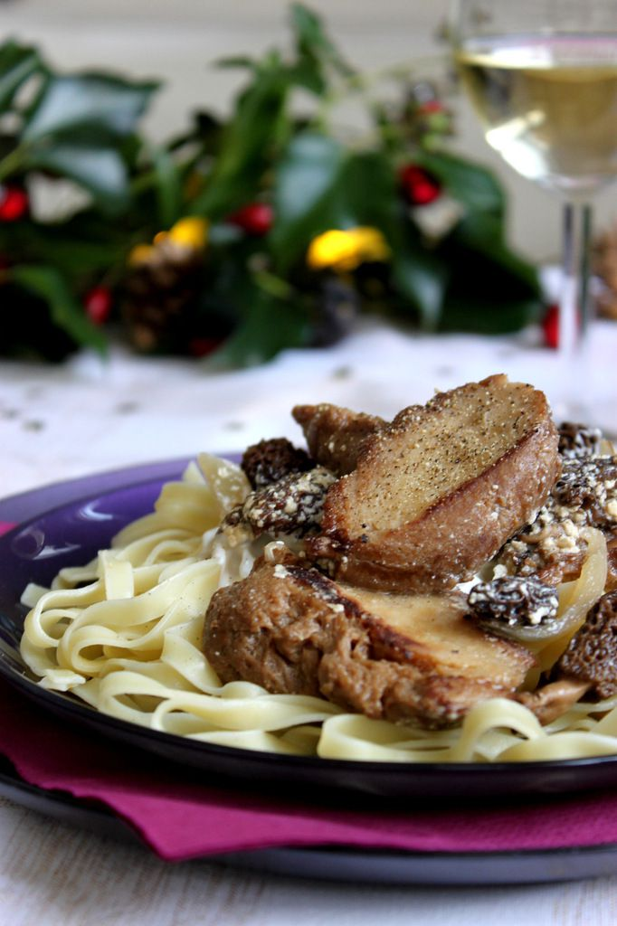 Seitan aux morilles et sauce au vin blanc recette festive - Cuisine lapin au vin blanc ...