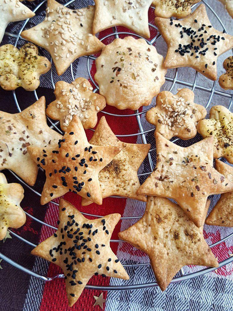Crackers apéritifs et festifs pour 1.2.3. Veggie !