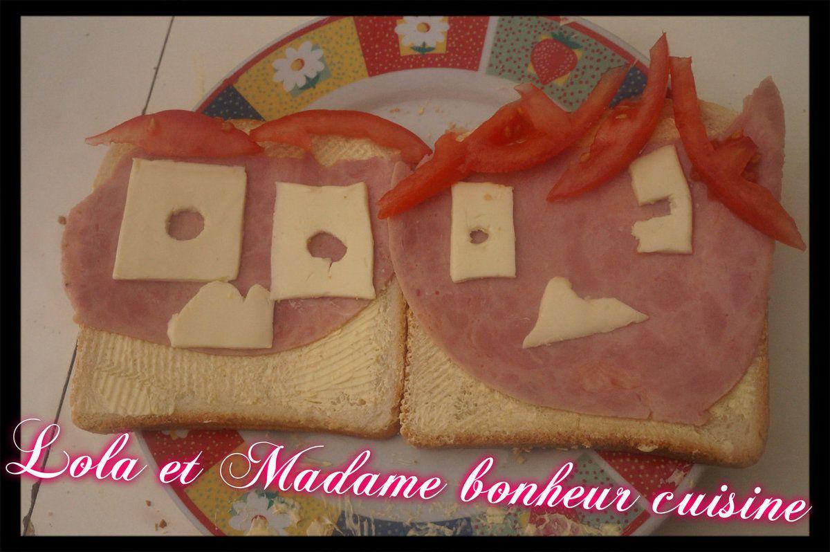 Croque sandwich