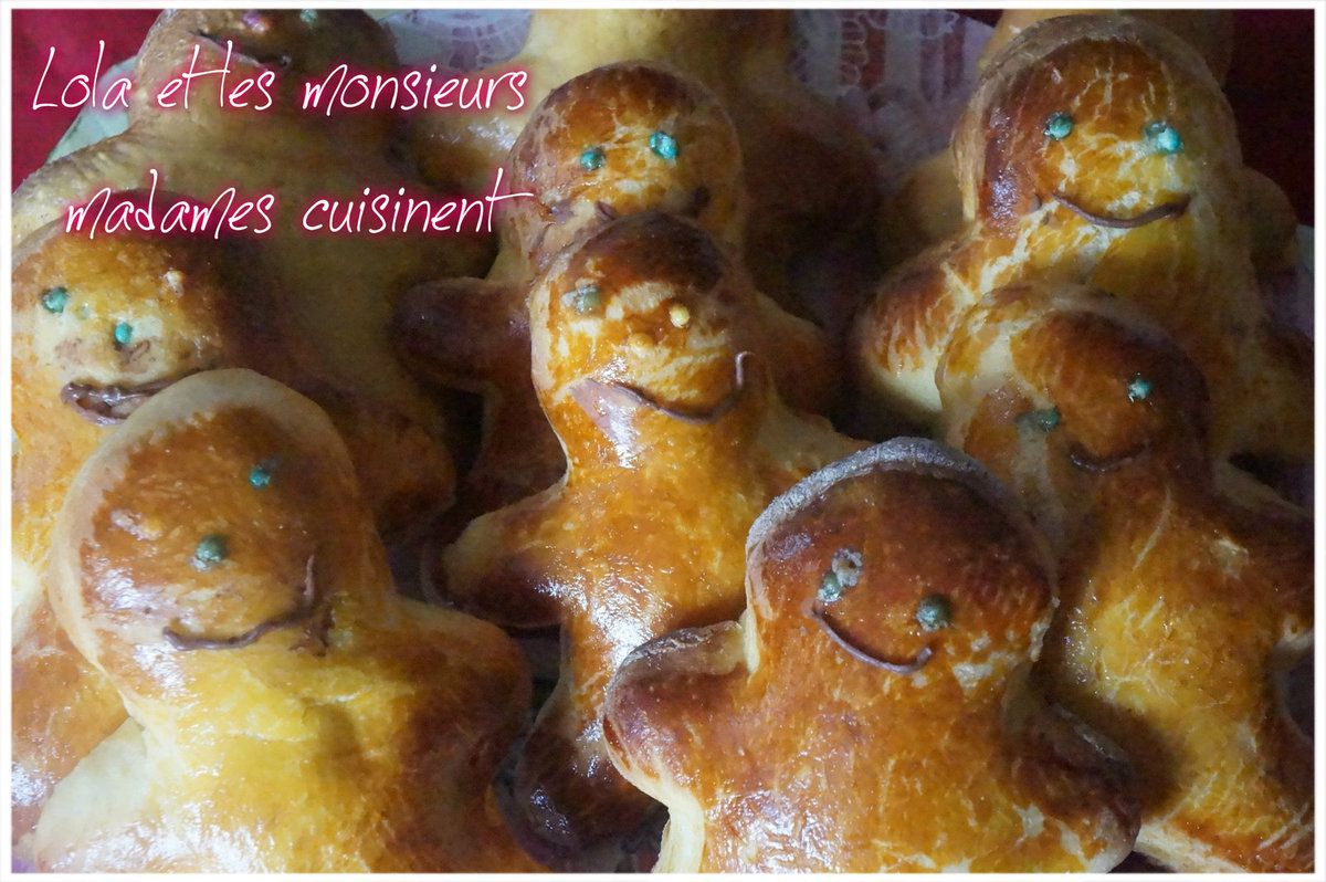 """Petit biscuit "" brioché ( de shrek)"
