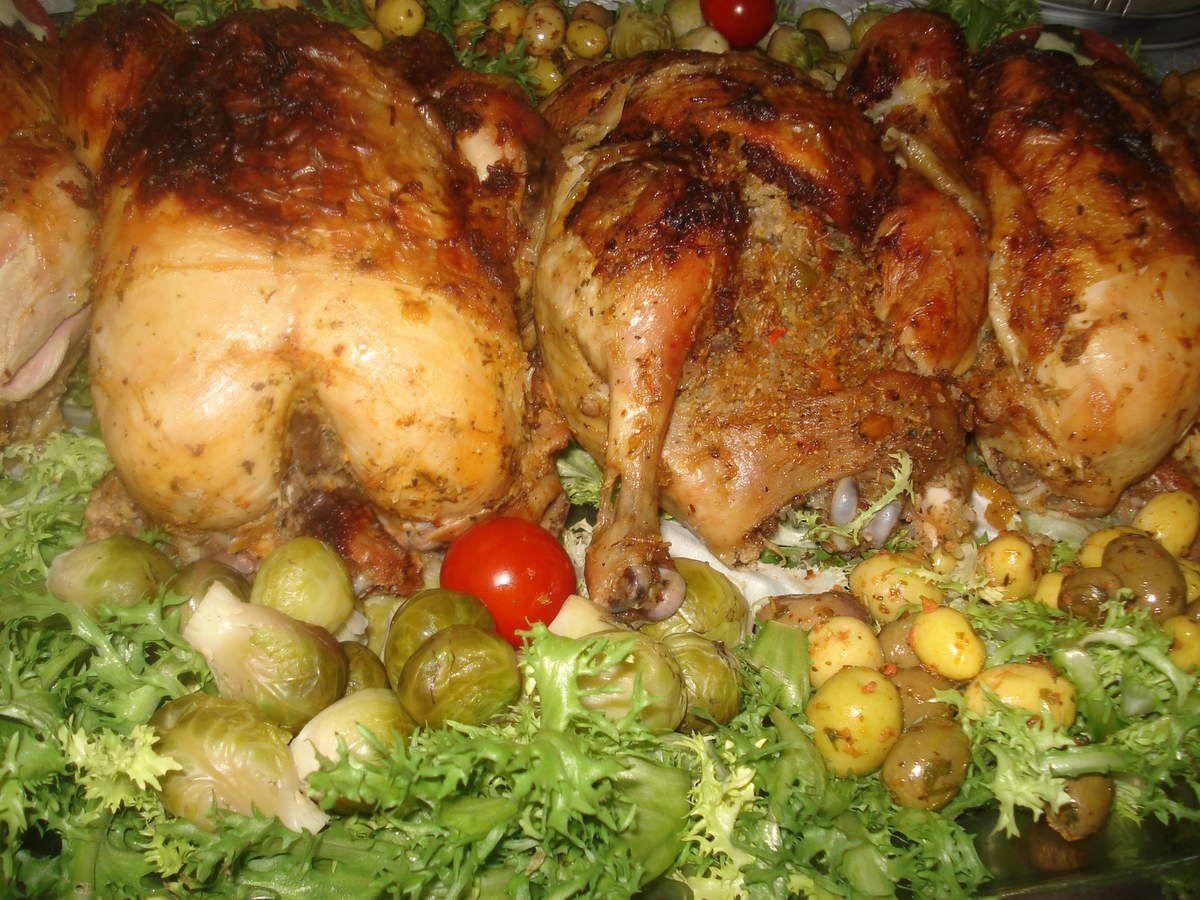 poulets farcis