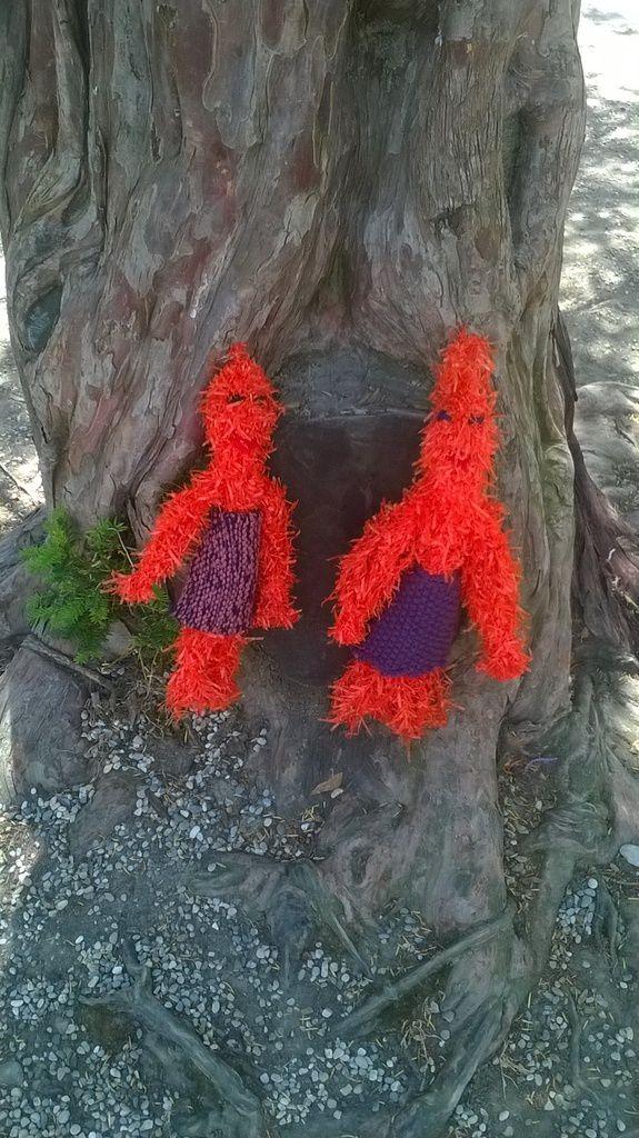 Yarn bombing en nord Isère ...