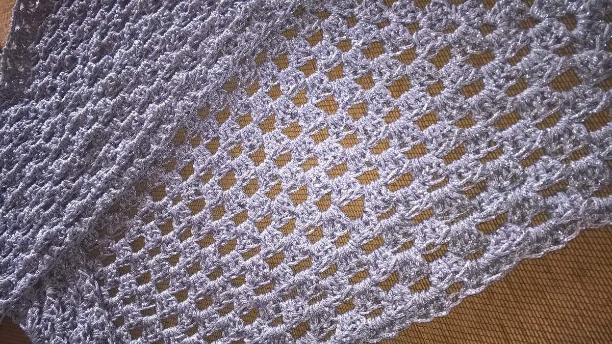 Crochet ... petit chèche