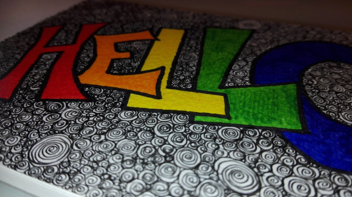 Dessin - Zentangle ...
