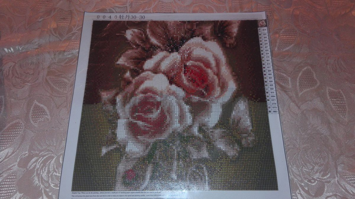 Diamond painting suite et fin