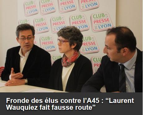 Patrick Mignola, le nouveau vice-président aux transports de la Région va t-il donner la priorité à une nouvelle autoroute entre Lyon et Saint-Étienne ?