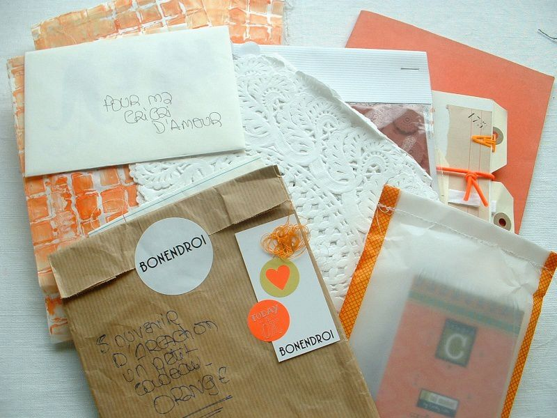 Happy mail Orange by Anmaco!