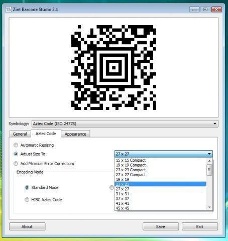 Zint Barcode