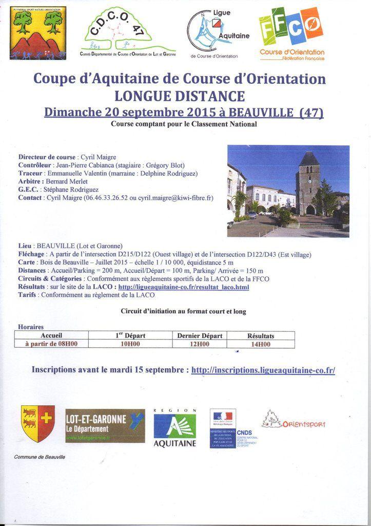 INVITATION BEAUVILLE  DIMANCHE 20 SEPTEMBRE