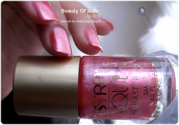 ♥ Astra n°108, un rose glossy !