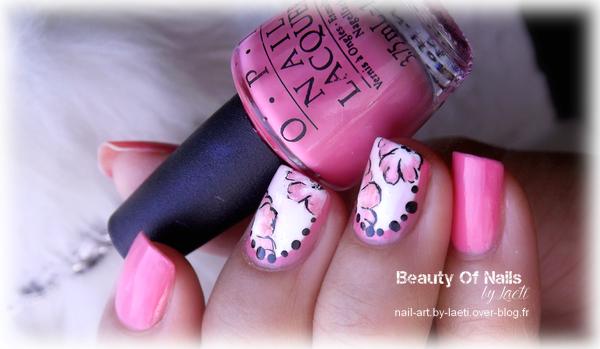 ♥ Un One Stroke dans les tons roses.