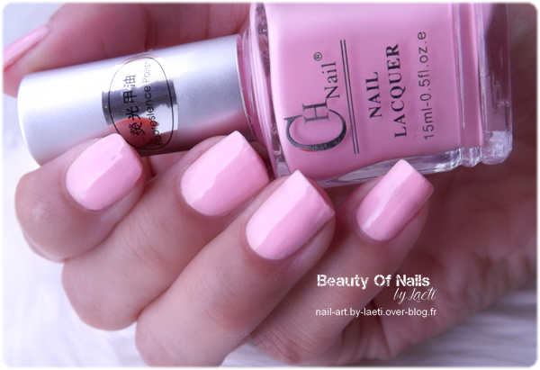 ♥ CH Nail Lacquer, Rose.