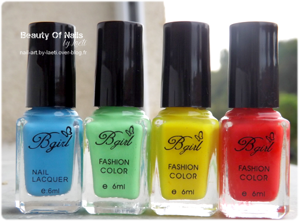 ♥ Swatch collection &quot&#x3B; Hot Candy &quot&#x3B; by Bgirl.