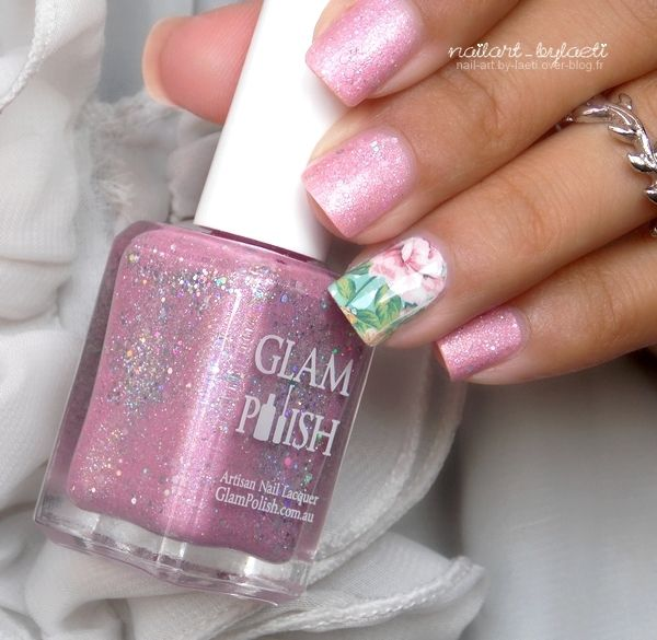 ❀ Glam Polish, Enchanted &amp&#x3B; Son Nail Art.
