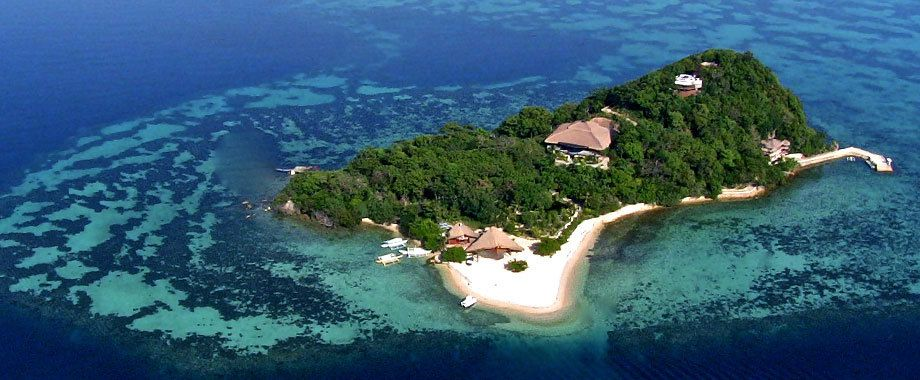 Private island in the Philippines