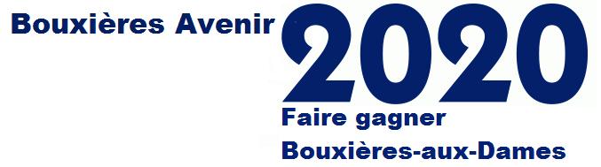 Bonjour et bienvenue sur le blog : Bouxières Avenir 2020