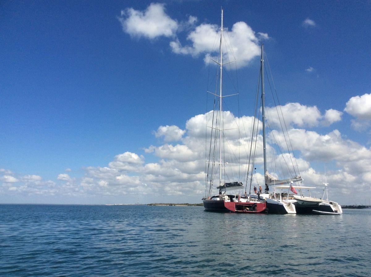 Cuba, belles rencontres, beaux bateaux.