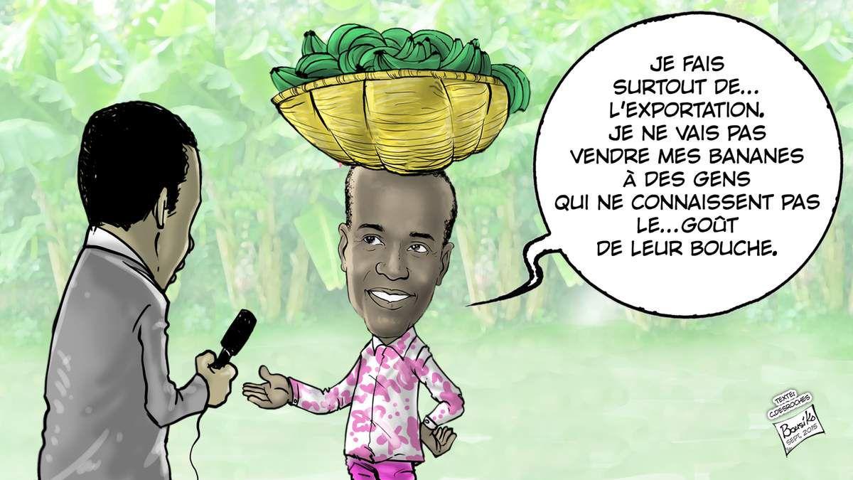 Caricature Le Nouvelliste
