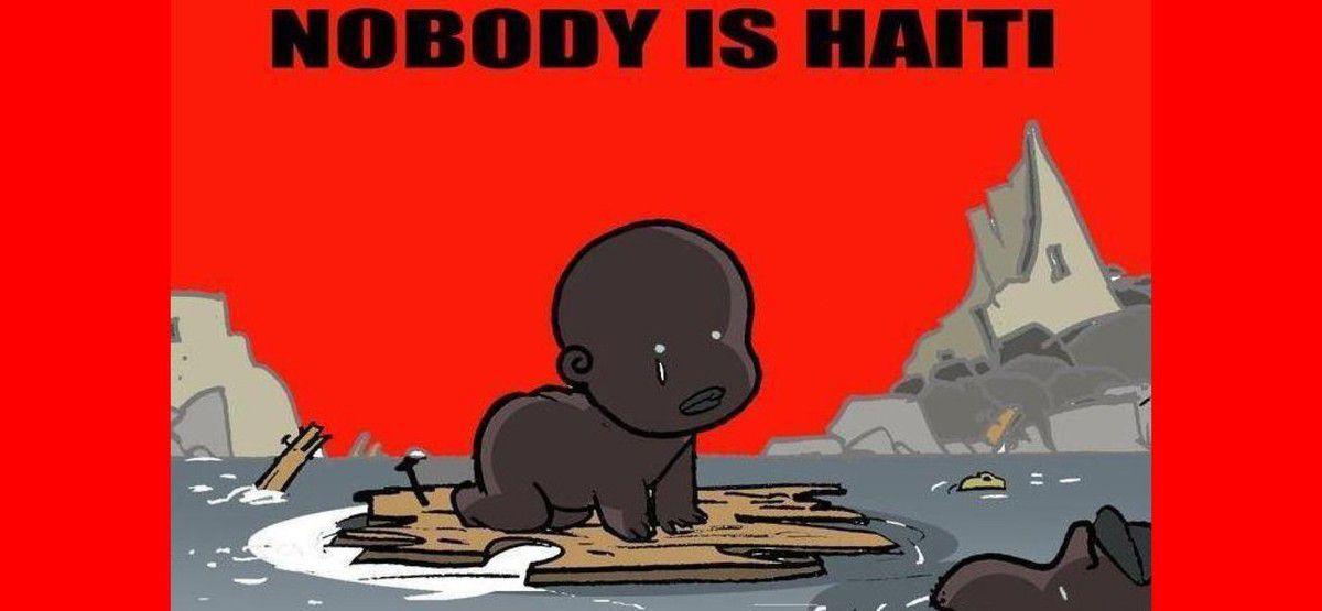 """Qui a dit """" Je suis Haïti"""" ?- Personne. Sources : http://reseauinternational.net/qui-a-dit-je-suis-haiti-personne/"""