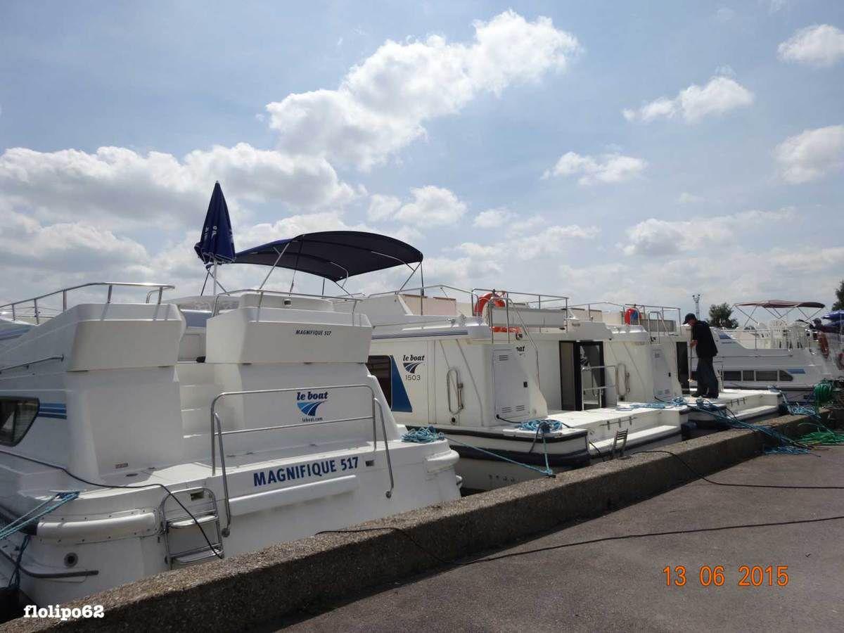 le port de Migennes le 13 juin 2015