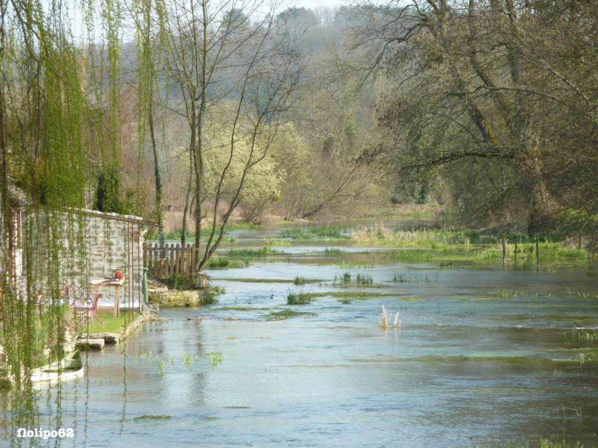 Druyes les belles fontaines le 24 mars 2012 - paysages divers