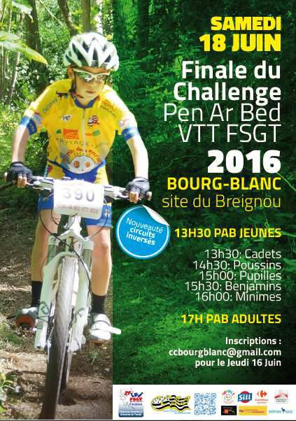 FINALE PENN AR BED A BOURG BLANC 2016