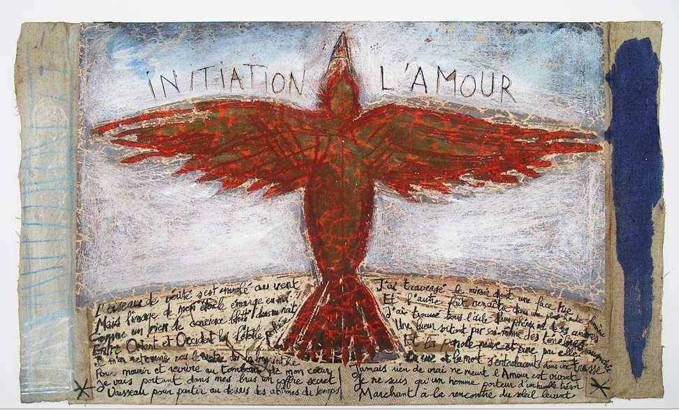 Litho &quot&#x3B; Initiation à l'amour&quot&#x3B; A 5