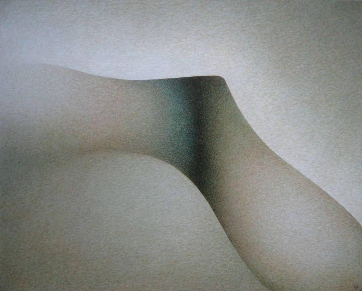 Verte lumière océane, 1994 - 81 X 65 cm