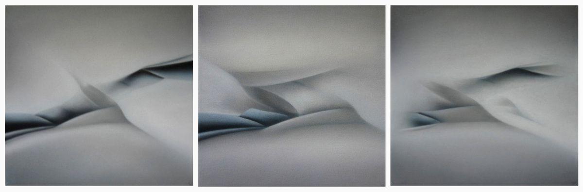Sentinelles des sables, 2009 25/26/27 - 34 X 35 cm (x3)