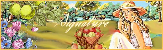 Signatures pour forum