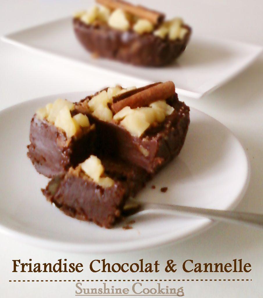 Friandise au Chocolat,Pommes,Cannelle et Spéculoos