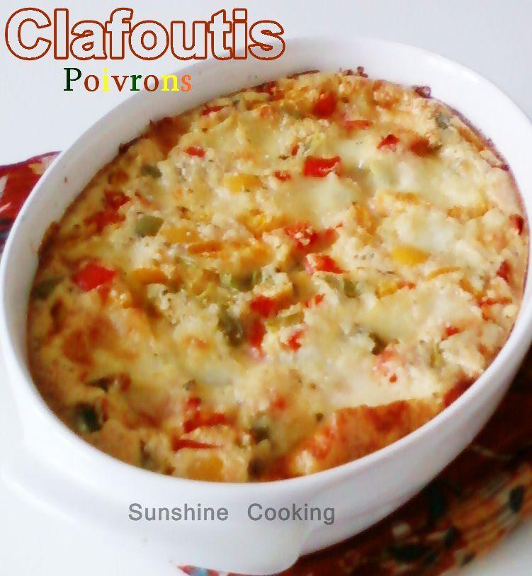 Clafoutis aux poivrons &amp&#x3B; Mozzarella
