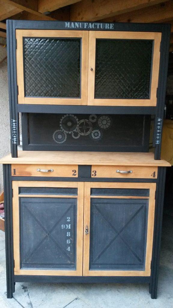 La fabrik de sandrine relooking de meubles cuisine for Poignee de meuble style industriel