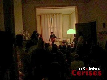 Hugo Race (Australie) @ Home concert (St-Gilles) - 17/05/2014