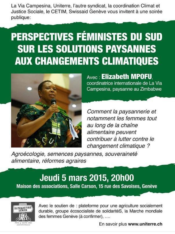 Climat : solutions paysannes des femmes du Sud