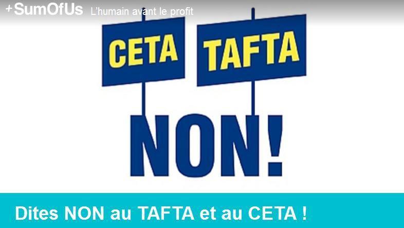 Mardi + mercredi prochains : NON au TAFTA et CETA