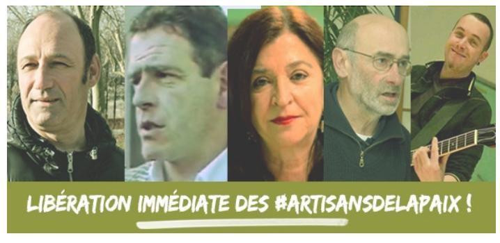 Libération des Artisans de la Paix !