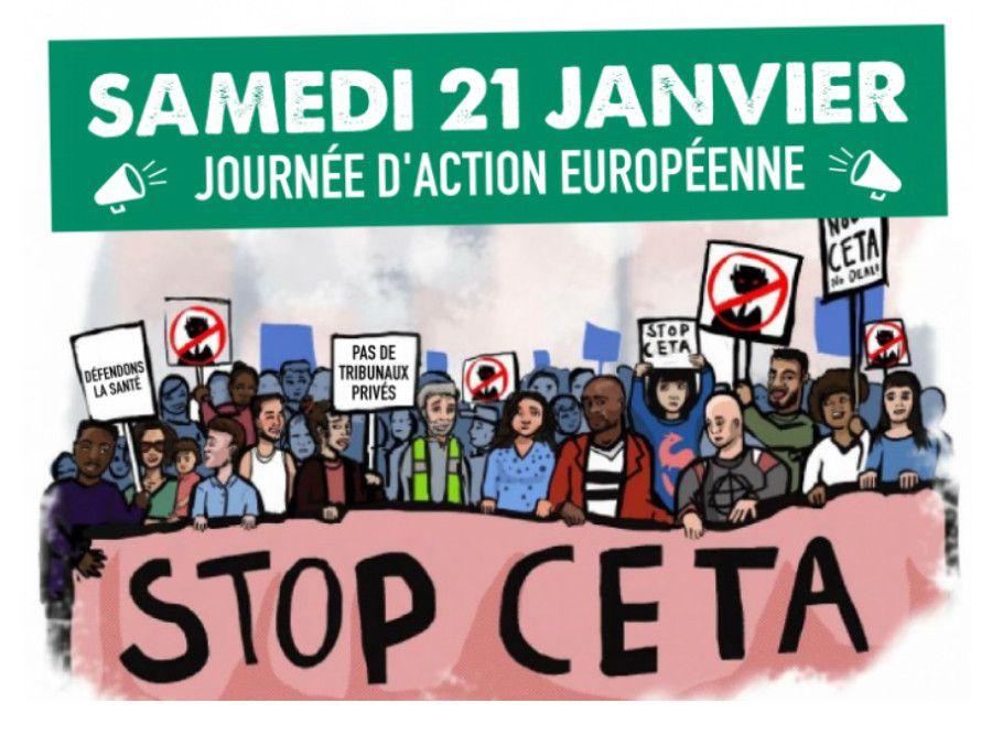 Stop CETA - Journée d'action européenne