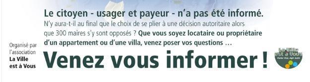 Compteurs LINKY : débat à St Julien jeudi