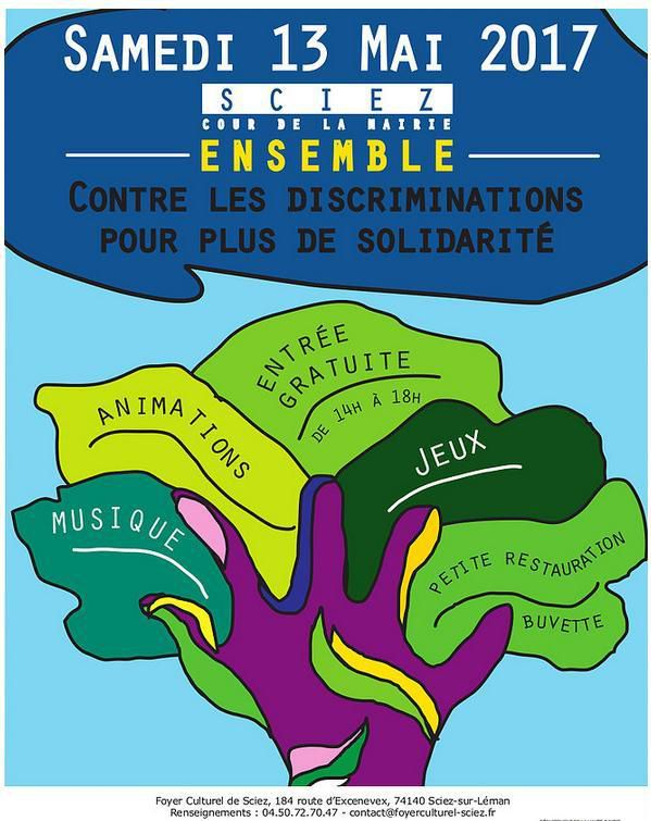 Ensemble contre les discriminations à Sciez
