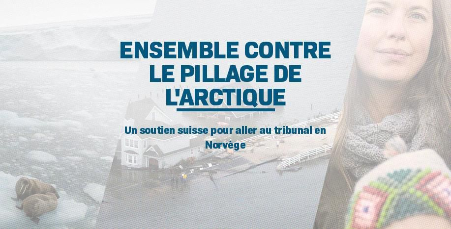Agir contre le pillage de l'Arctique
