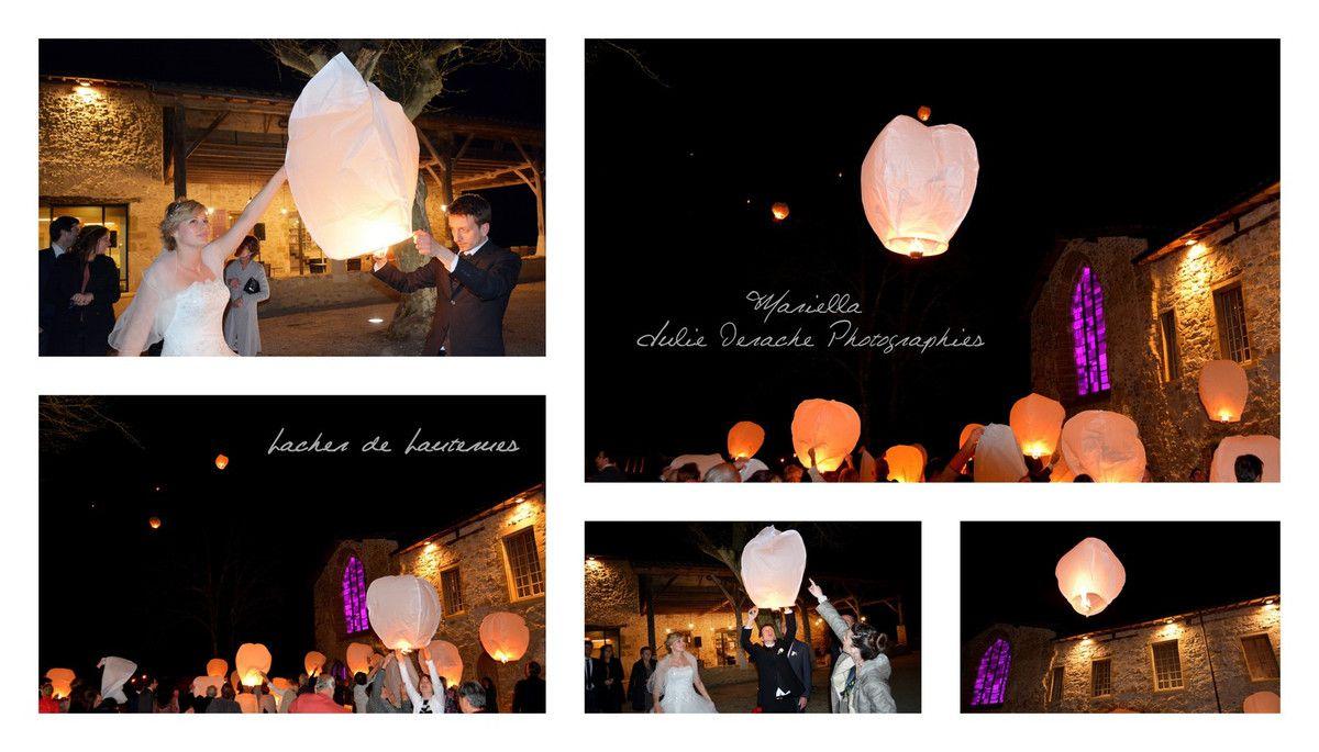 Et pour finir la soirée un magnifique lâcher de lanternes ! Une ambiance princesse... Raiponce bien sûr !
