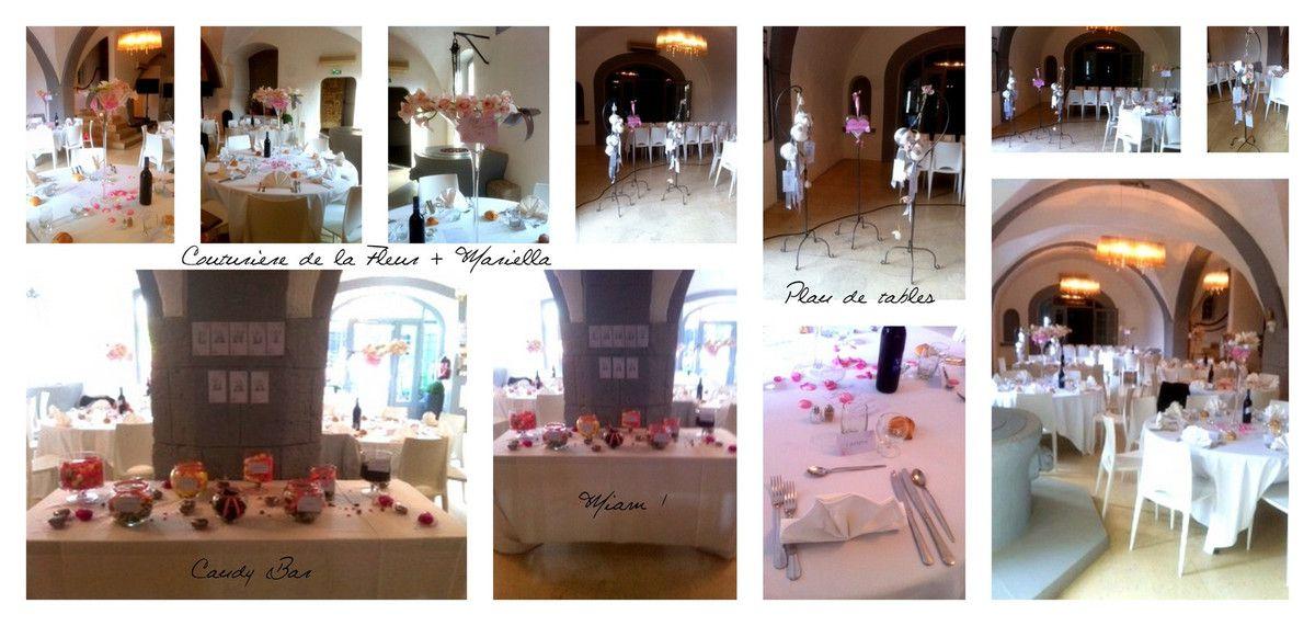 Mariage Rose & Gris | Organisation de mariage pour tous Sud de la France