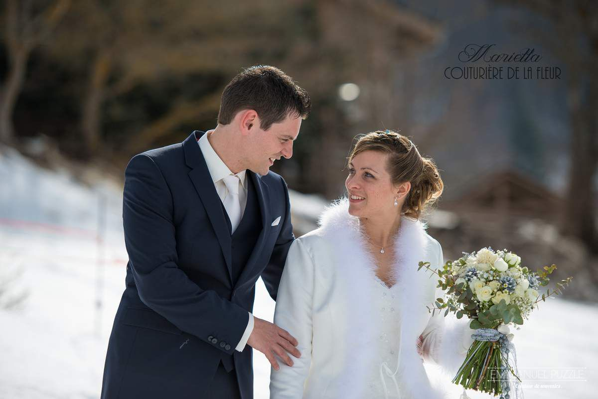 #mariage #hiver #neige