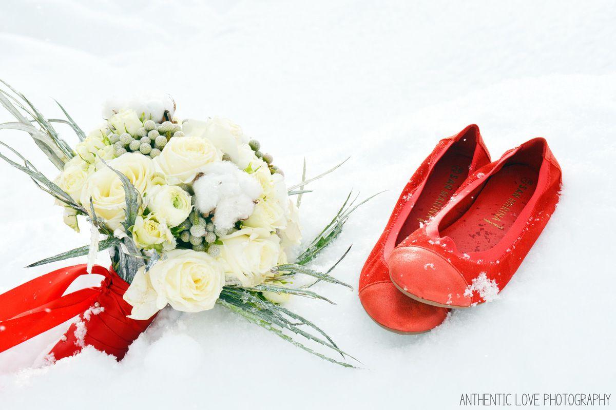 Mariage à la montagne sous la neige   Wedding planner Savoie