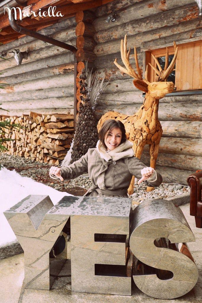 Organisation Mariage en hiver à la Cabane des Praz par Mariella