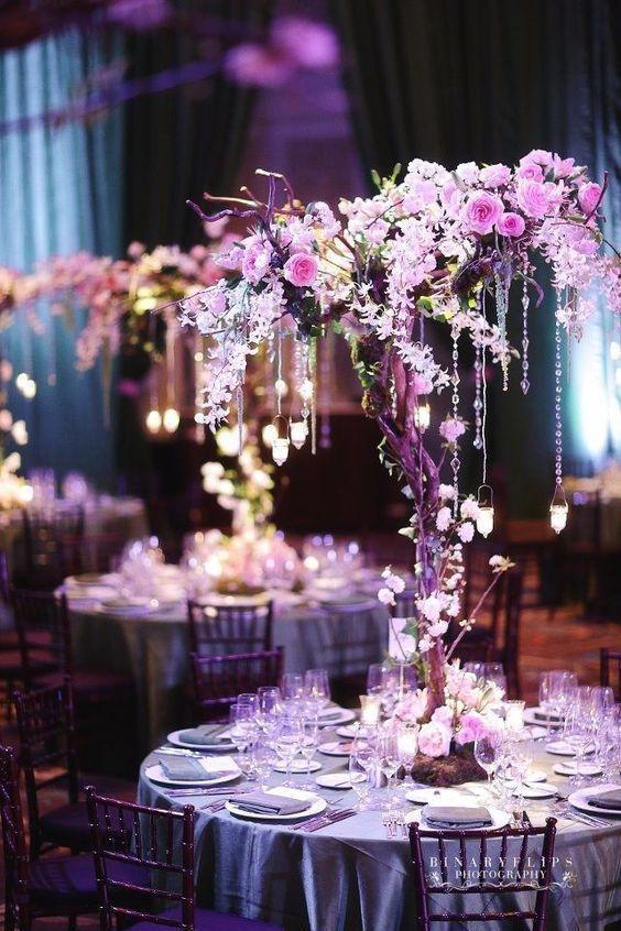 Decoration Table Mariage Arbre.Arbres De Mariage L Arbre Le Fil Rouge De Votre Mariage